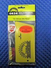 Off Shore Tackle Mini Planer Board Yellow Reversible OR34 With OR16 Red Clip