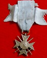 Bulgaria Royal Order for Bravery, Soldier's Cross, III class, 'Seven Point' Type
