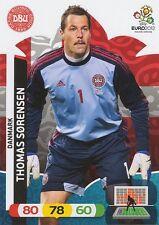 THOMAS SORENSEN # DENMARK CARD PANINI ADRENALYN EURO 2012