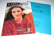 Garnstudio DROPS knitting yarn pattern book #65 with 23 Summer Designs for Women