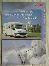 La Strada Kia Motorhome brochure 1999 German text