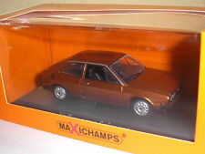 Vw scirocco 1974 marron metallic dans 1:43 de maxichamps