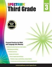 Spectrum Grade 3 Math and Language Arts Mastery