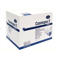 Cosmopor E Ahesive Surgical Sterile Dressings X 50 Wounds,Burns,Cuts,7.2x5cm UK