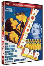 WONDER BAR (1934) **Dvd R2** Kay Francis, Dolores del Rio Dick Powell Al Jolson