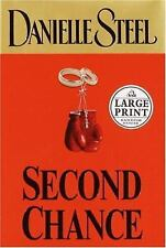 Second Chance by Danielle Steel (2004, Hardcover, Large Type)