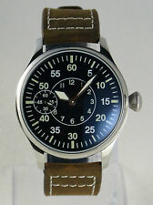 Mechanical B-uhr FLIEGER Type B Navigator pilot watch type Unitas 6498  FRANCE
