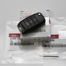 Keyless FOB Entry Remote Control Folding Key (Fit: KIA Sportage 2014 2015)