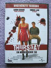 DVD Video Thursday - Ein mörderischer Tag - Ungekürzte Fassung (2005) FSK 18