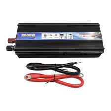 2000 Watt DC 24V to AC 110V Car Power Converter Modified Sine Wave Inverter
