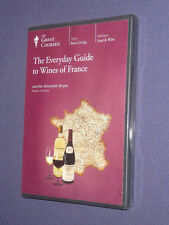 Teaching Co Great Courses  DVD              WINES  of  FRANCE    new & sealed