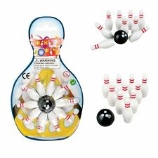 Mini Bowling Games 1 dozen Toy Sports Party Favor Gift Prize Birthday Kids NEW
