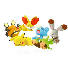 6pcs/Set Pokemon Nendoroid PVC Figure Figurine