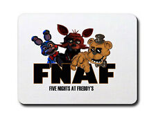 FIVE NIGHTS AT FREDDY'S MOUSEMAT/PAD (FNAF GANG) PC COMPUTER GAMERS PIZZA