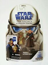 Hasbro Star Wars Legacy Collection Yaddle & Evan Piell 3.75 Figure Pack