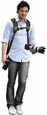 Dual Neck Shoulder Strap With Quick Release For JVC GZ-VX815 GC-PX100 GZ-GX1