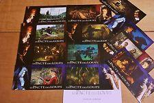 """LE PACTE DES LOUPS ! jeu 12  photos prestige grand format  /"""""""