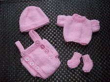 HAND Knitted DOLLS OUTFIT 10-11 in/reborn OOAK/Emmy