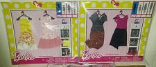 "BARBIE ""2-COMPLETE LOOK FASHION 2-PACK'S LOT""- NEW & LOW$$-FREE SHIPPING!!"