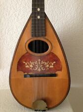 ANTIQUE MANDOLIN MANUFACTURED BY GLOBE MUSICAL INSTRUMENT IN 1910, BEAUTIFUL
