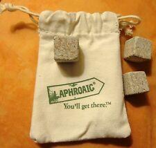 Laphroaig Whisky - Soapstone Whisky Cubes - Very Cool - Stone Ice.. NEW