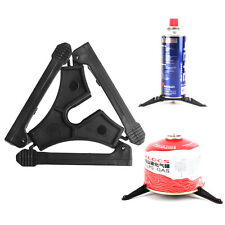 Folding Outdoor Hiking Camping Gas Tank Cooking Bracket Canister Stand Tripod