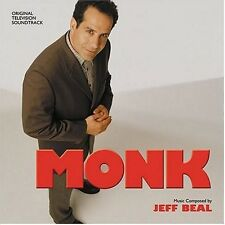 Monk - Jeff Beal (2004, CD NIEUW) Music BY Jeff Beal