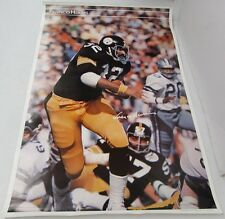 Franco Harris 1977 Sports Illustrated Poster Pittsburgh Steelers