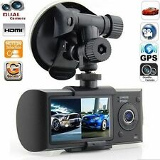 "2.7"" 1080P Full HD Car DVR Dual Lens Camera Video Recorder Dash Cam G-Sensor USA"