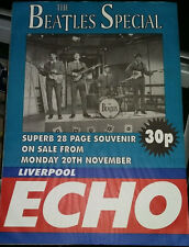 Beatles Special Liverpool Echo Newsagents Advertising  Poster