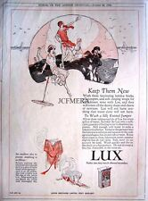 1923 Lever Bros. 'LUX' Washing Soap Powder Advert #2 - Original Deco Print AD