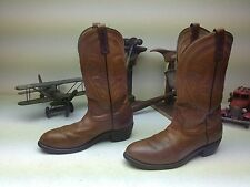 CLASSIC RED WING BROWN LEATHER STEEL TOE WESTERN PECOS ENGINEER WORK BOOTS 9 B
