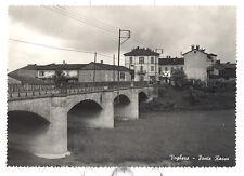 VOGHERA (PAVIA) cartolina PONTE ROSSO torrente Staffora - non viaggiata Oltrepò