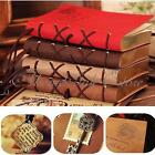 Retro Vintage PU Leather Bound Blank Pages Journal Diary Notebook Sketchbook