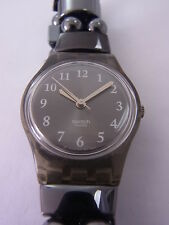 LM121 Swatch - 2002 Ladies Ballroom Belle Grand Grey Swiss Made Authentic