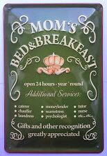MOM´S BED & BREAKFAST, Blechschild HOTEL MAMA