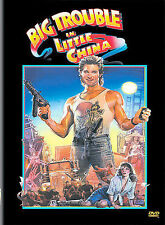 BIG TROUBLE IN LITTLE CHINA DVD KURT RUSSELL KIM CATRALL JOHN CARPENTER