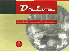 """DRIVE: CARS IN CONTEMPORARY ART"" 20 POSTERS BOLOGNA GALLERY OF MODERN ART NIB"