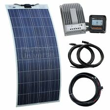 150W Flexible Solar Charging Kit for Motorhome, Caravan, Boat, Yacht or Marine