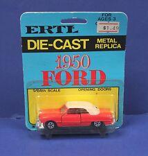 Ertl #1631 1:64 1905 Ford Convertible Red MOC 70s Hong Kong