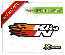 XTREME-in FIRE K&N FILTER REFLECTIVE STICKER FOR CAR, BIKE, DOOR,GLOSS (4 inch)