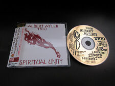 Albert Ayler Trio Spiritual Unity Japan 24k Gold CD w OBI Peacock ESP Free Jazz