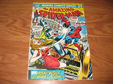 The Amazing Spider-Man #125 (Oct 1973, Marvel)  Origin Man Wolf