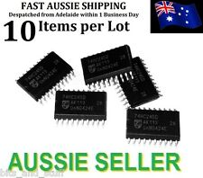 10pcs 74HC245D Philips Tristate Octal Buffer CMOS SO20 SMD Arduino UNO PIC AVR
