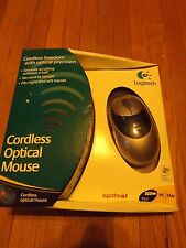 Logitech Cordless Optical Mouse & Receiver-NEW IN BOX