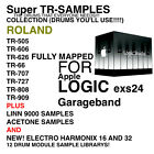 Super Tr- Sample Library For APPLE LOGIC EXS pro express garage band 12 Kits