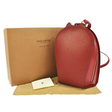 AUTH LOUIS VUITTON MABILLON BACKPACK BAG PURSE RED EPI LEATHER M52237 B29832
