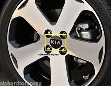 OEM KIA Logo Wheel Caps Center Hub Cap Set 4pcs for KIA Vehicle Models