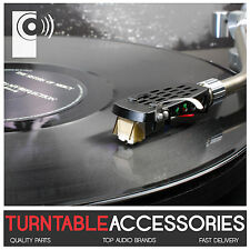 Turntable Replacement Tonearm Black Metal Headshell - THAT'S AUDIO