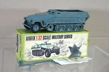 AIRFIX MILITARY SERIES 1836 WWII GERMAN HALF TRACK PERSONNEL CARRIER TANK MIB na
